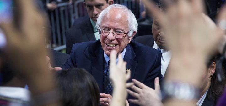 Sen. Bernie Sanders (I-Vt.) picked up wins in Saturday's caucuses.