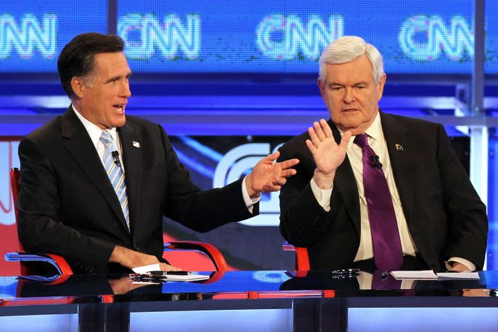 Gingrich credits the viability of his 2012 campaign to his success in the debates.