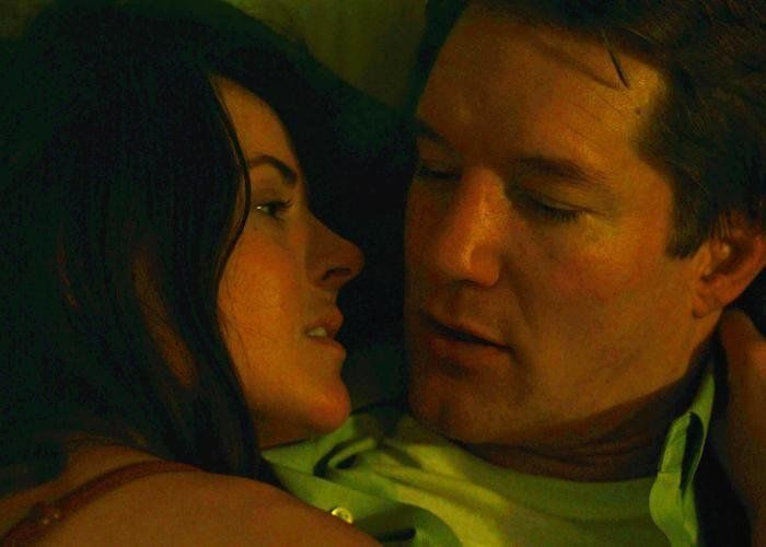 """Sarah Butler and Bill Dawes share a scene from """"Before the Sun Explodes."""""""