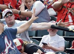 Real American Hero Saves Kid From Getting Bat To The Face