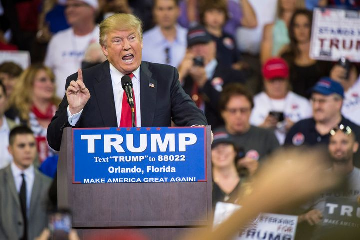 Republican presidential candidate Donald Trump has no shortage of fans in the white nationalist community.