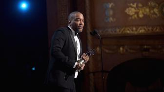 WASHINGTON, DC - MARCH 05:  Honoree Lee Daniels accepts an award on stage during the BET Honors 2016 Show at Warner Theatre on March 5, 2016 in Washington, DC.  (Photo by Paras Griffin/BET/Getty Images for BET)