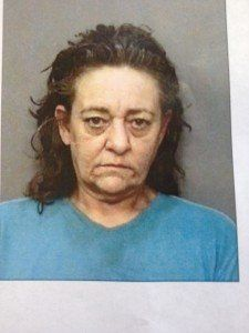 """Sharon Kay Turman, 51, is wanted by police after she allegedly violated her parole and took cops on a high-speed chase in a """""""