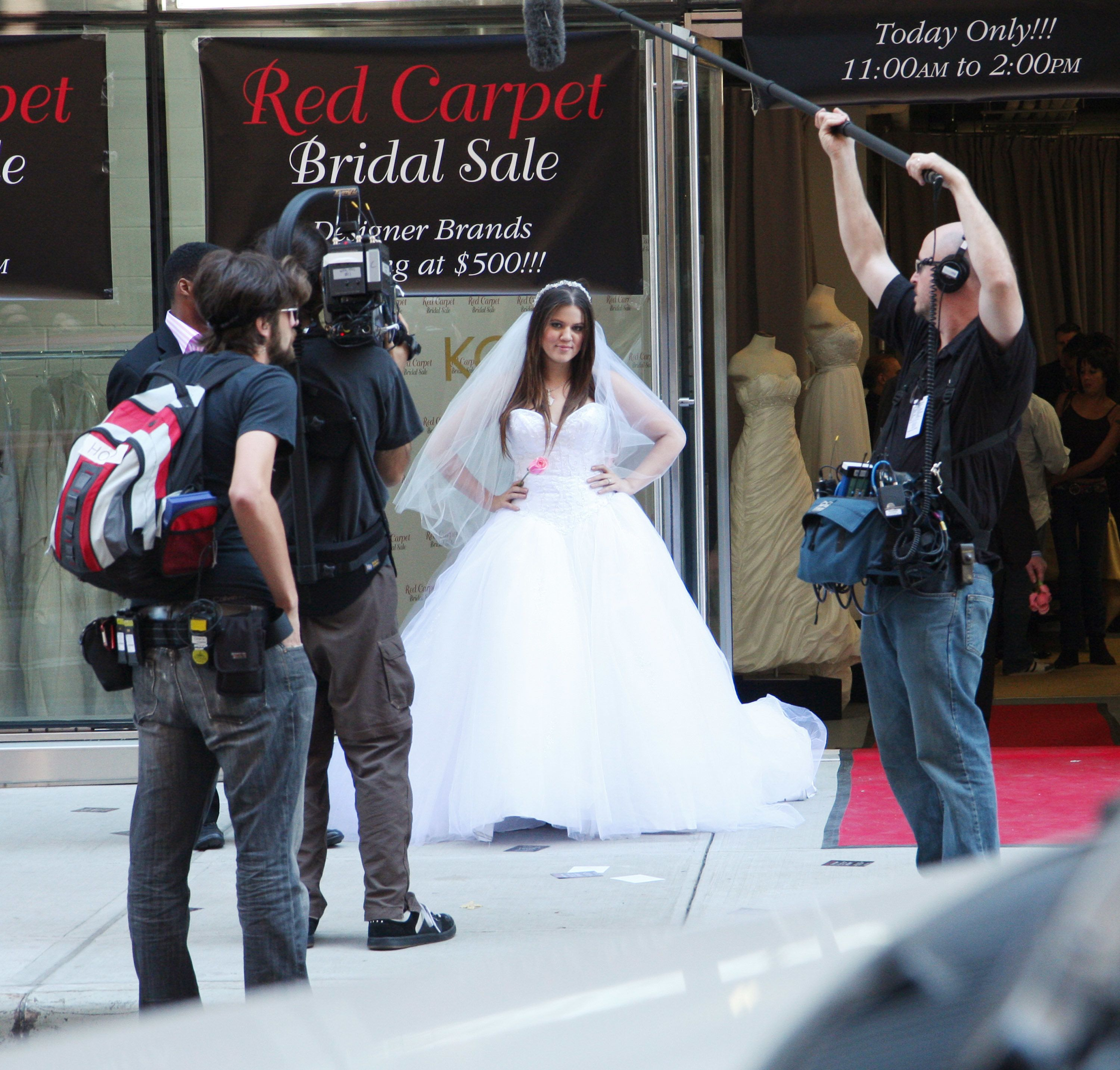 NEW YORK - OCTOBER 11:  Khloe Kardashian attends the 'Celebrity Apprentice' charity wedding gown sale at a Private Location on October 11, 2008 in New York City.  (Photo by Johnny Nunez/WireImage)