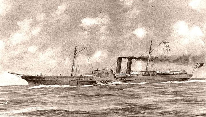 The newly discovered shipwreck is believed to be of a blockade runner similar to this vessel, the ADVance.