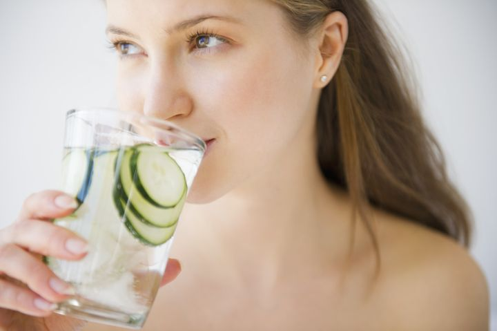 There is no magic number for how much water you should drink every day.
