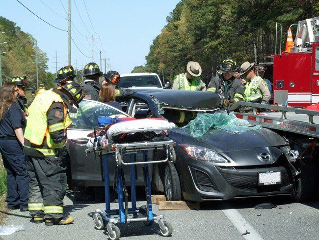 "In April 2012, Liz Marks was reading a text when her car plowed into the back of a flatbed truck. ""To this day, I c"