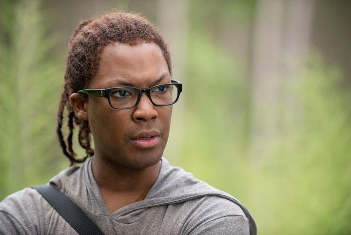 Corey Hawkins plays Alexandrian supply runner Heath.