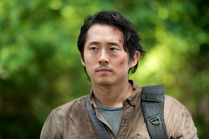 All eyes are once again on Steven Yeun's Glenn.