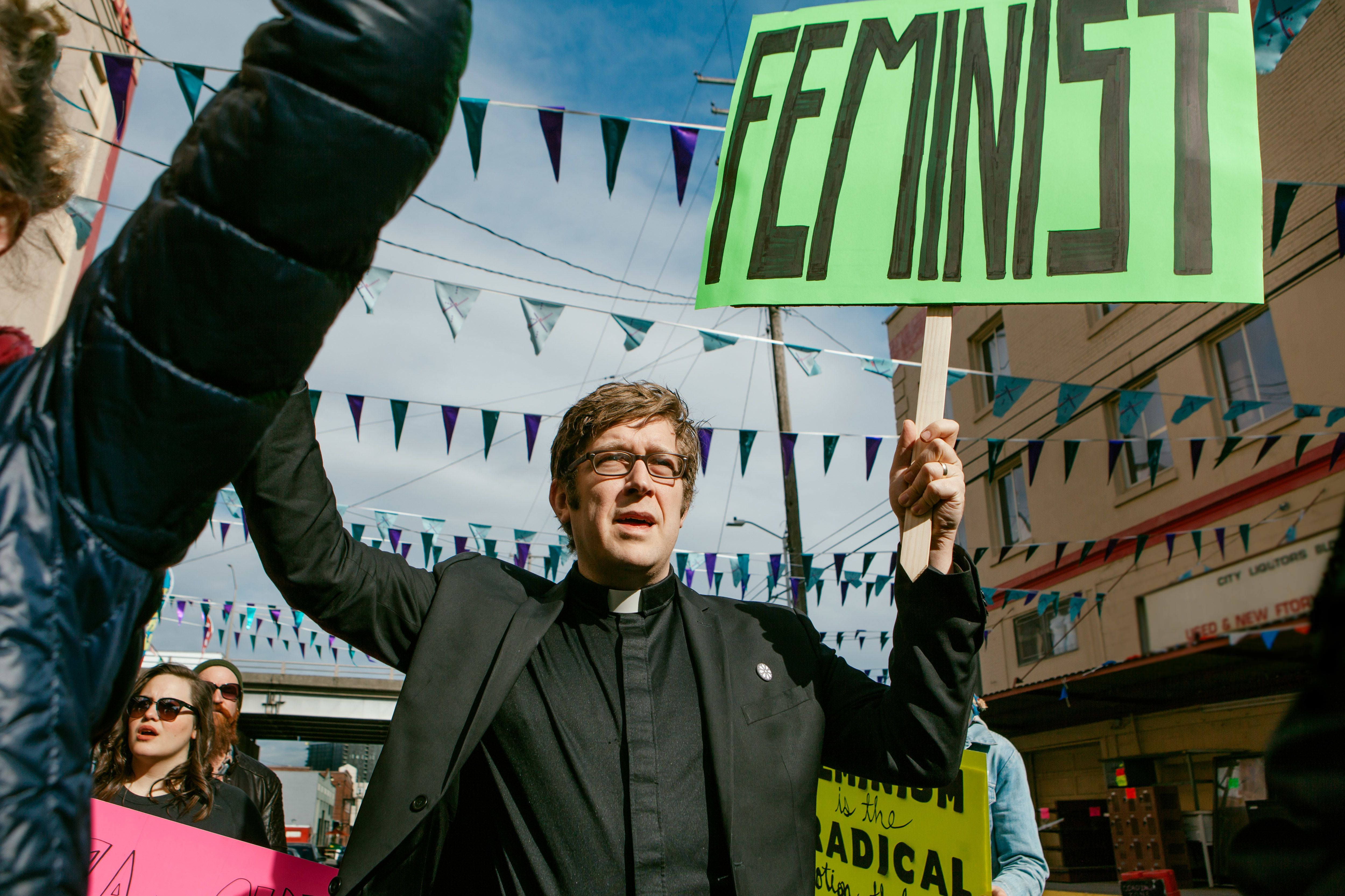 """""""Sadly, the Christian church, for almost its entire history, has too often been used to justify and bolster patriarchy,"""