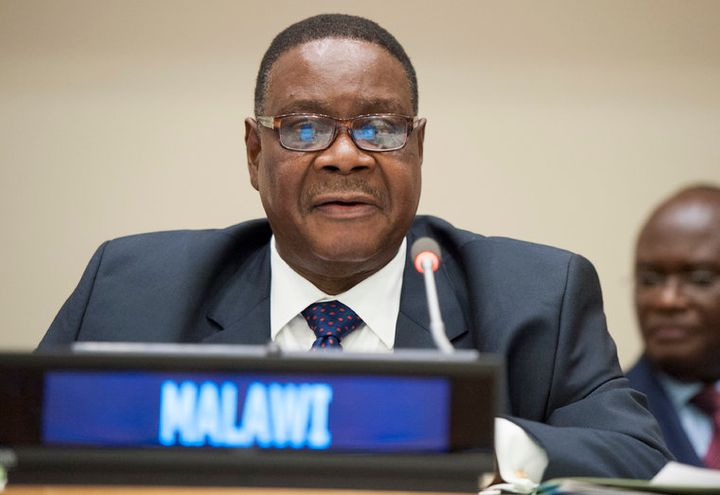 Arthur Peter Mutharika, President of the Republic of Malawi