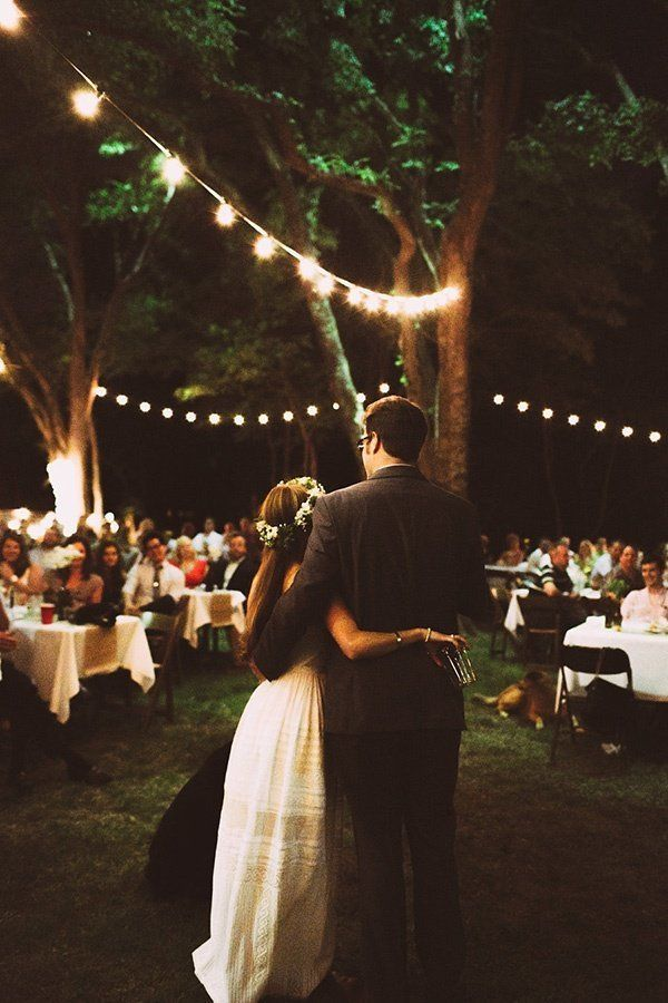 Backyard Wedding Receptions 19 charming backyard wedding ideas for low-key couples | huffpost life