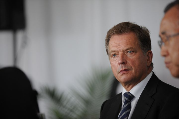 Sauli Niinistö, President of Finland