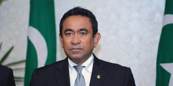 Abdulla Yameen Abdul Gayoom, President of the Maldives