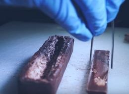Watch The Food Surgeon Surgically Implant A Kit Kat In 3 Musketeers