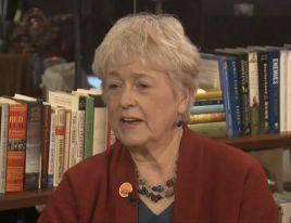 EMILY's List founder Ellen Malcolm spoke about women in Congress helping each other.