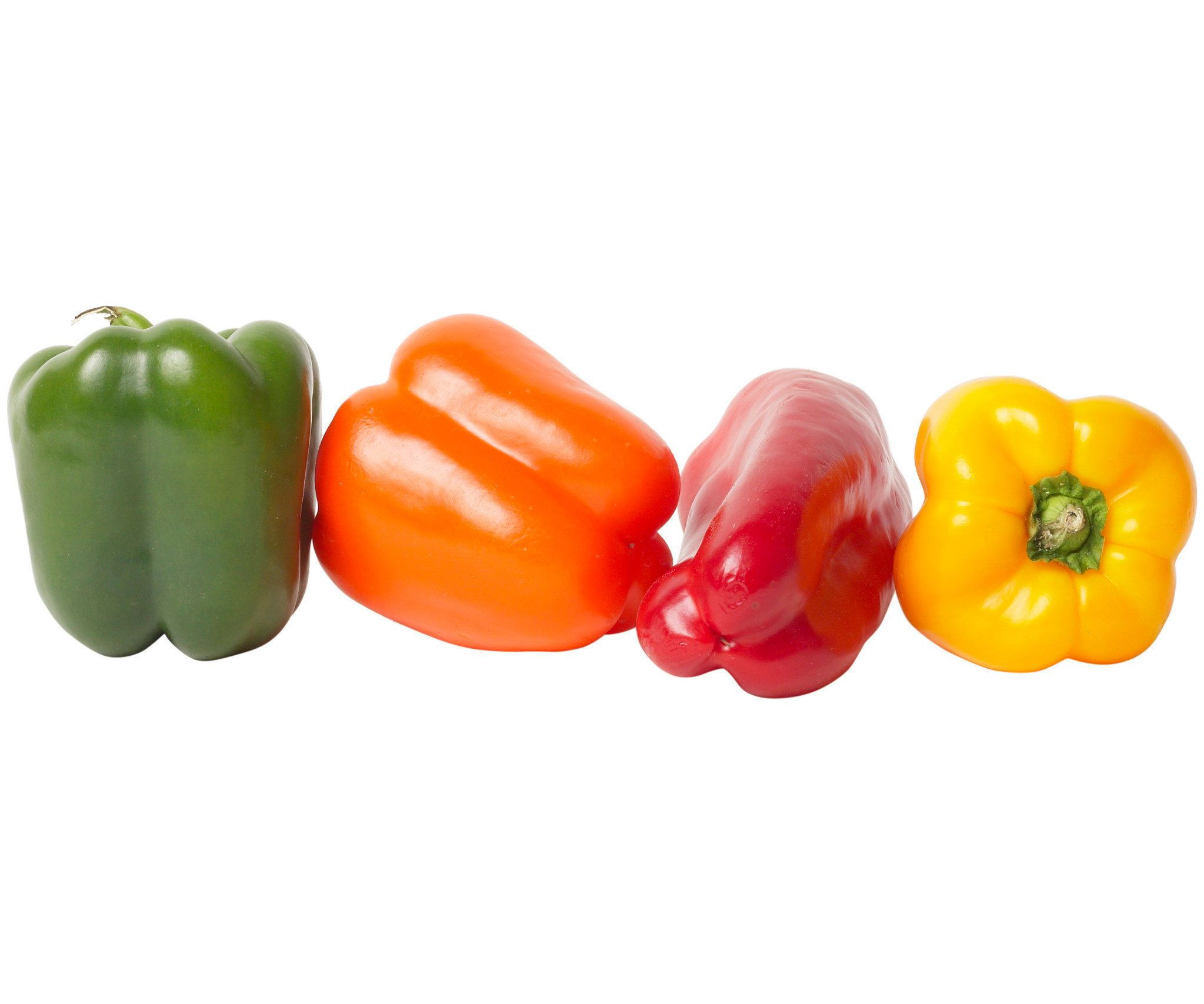 Green Bell Peppers Are Just Unripe Versions Of Red Peppers ...