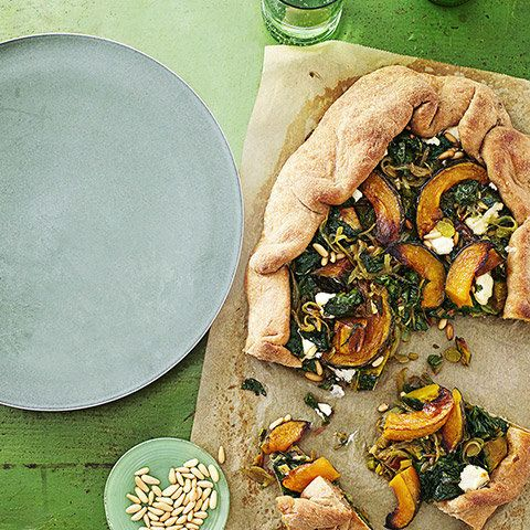 """A cross between pastry and pizza, this savory tart adapted from Anna Thomas's forthcoming cookbook, <i><a href=""""http://www.am"""