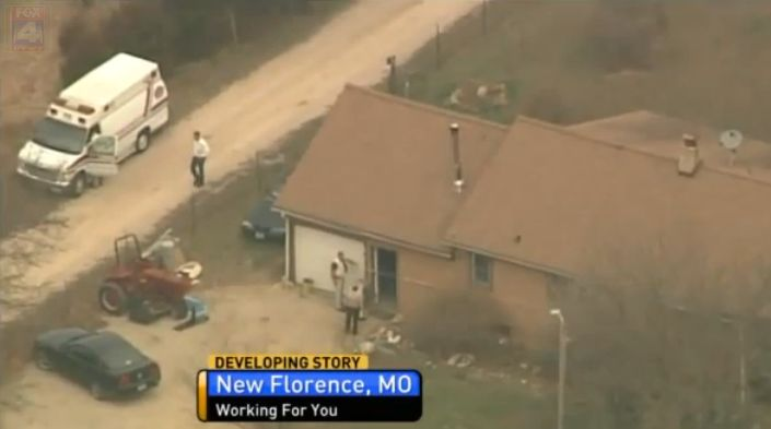The suspect's truck was found in New Florence, Missouri, near where one of the victim's was killed.