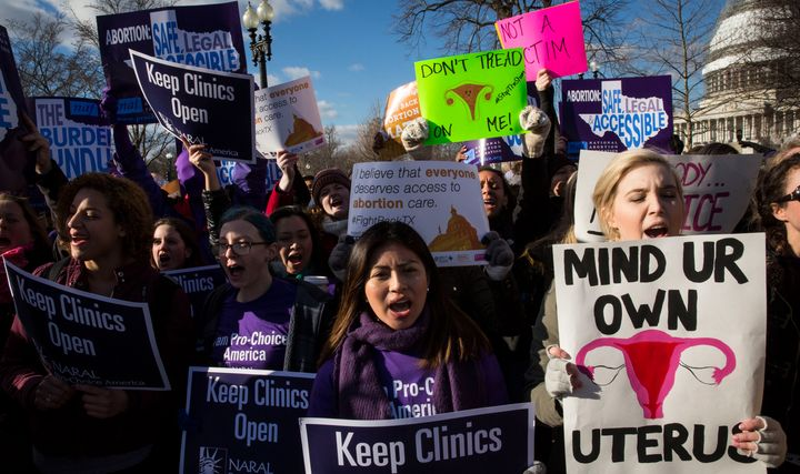 The Supreme Court heard oral arguments in a major Texas abortion case on March 2, 2016. Other states have similar laws t
