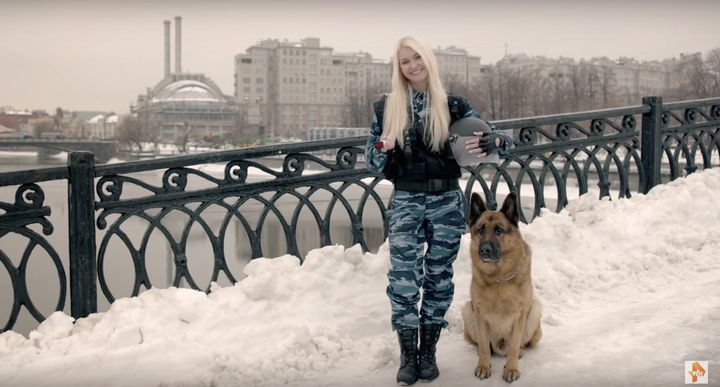 On March 8, International Women's Day, Russian news channel REN TV released a video full of military euphemisms.