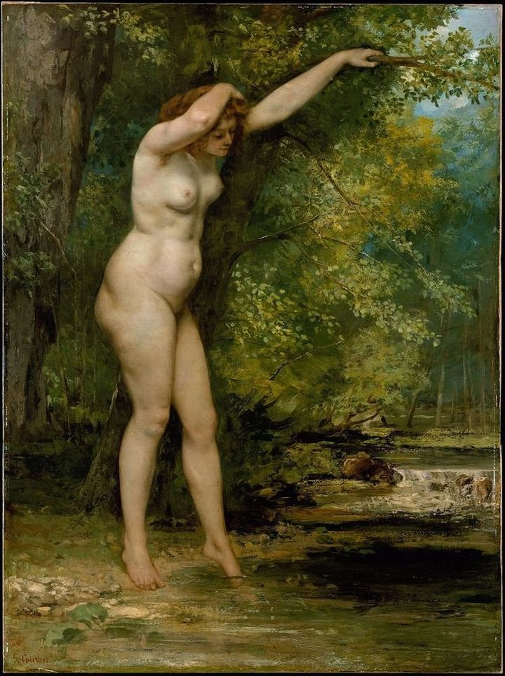 "<a href=""https://commons.wikimedia.org/wiki/File:Gustave_Courbet_-_Young_Bather.jpg"" target=""_blank"">Gustave Courbet, ""Young"