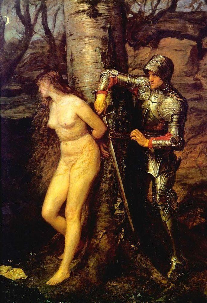 """<a href=""""https://commons.wikimedia.org/wiki/File:The_Knight_Errant_b_John_Everett_Millais_1870.jpg"""" target=""""_blank"""">John Ever"""