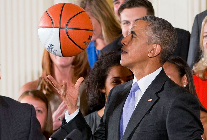 Chin up, Mr. President, you've grown!