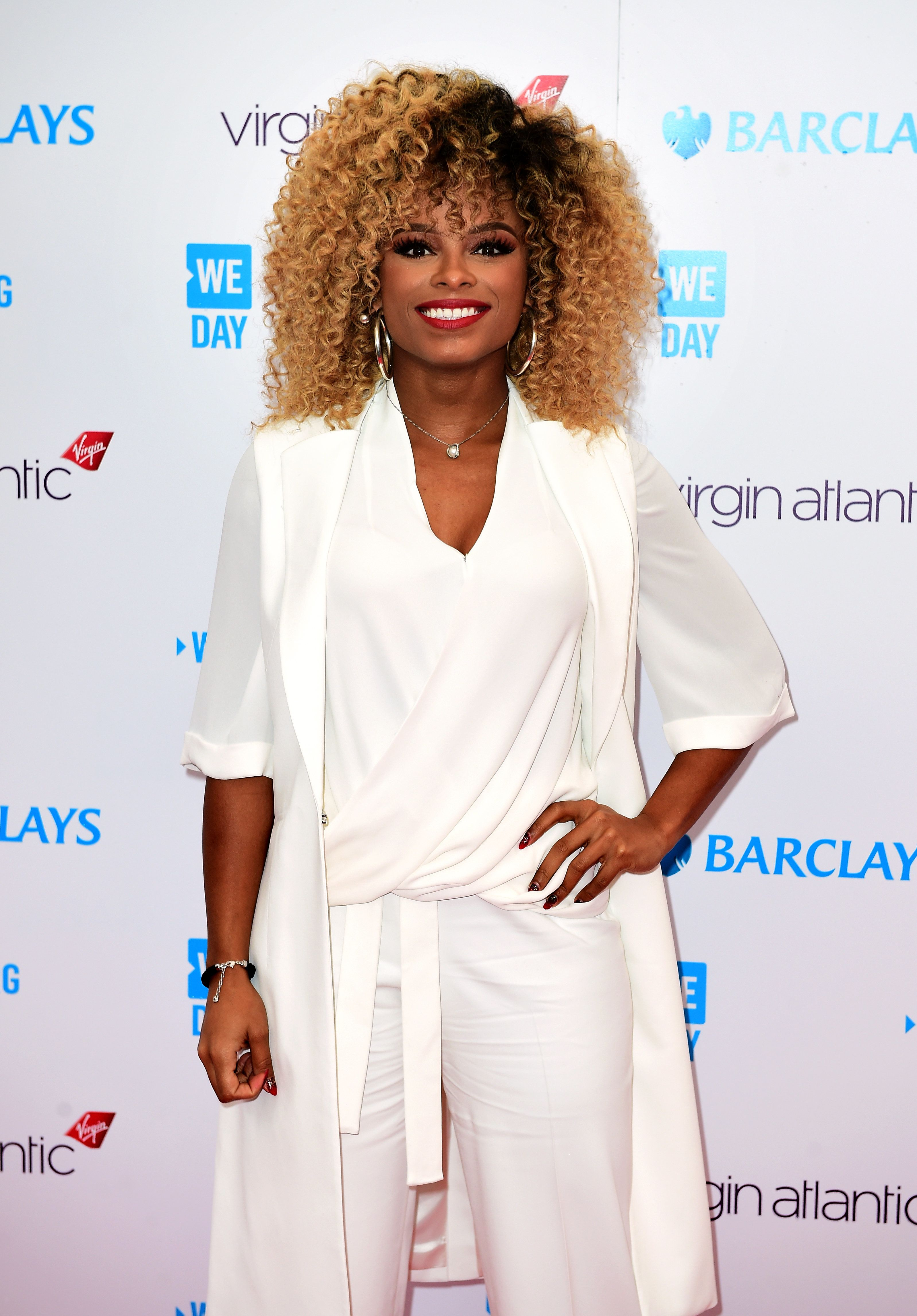 Fleur East Sports Two Unique Looks At We