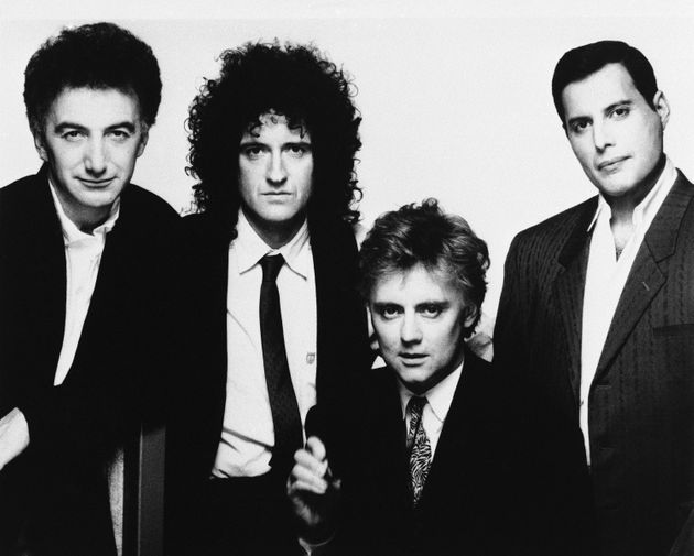 Queen: John Deacon, Brian May, Roger Taylor and Freddie