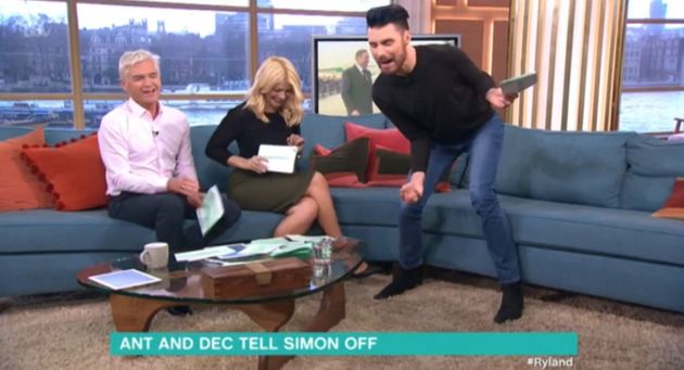 Rylan Clark was 'attacked' by moth on 'This