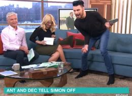 Rylan Clark Had A Ridiculous Reaction To A Moth On 'This Morning'