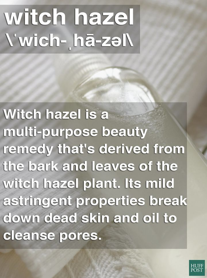 What Exactly Is Witch Hazel, And Is It Safe To Use On Your