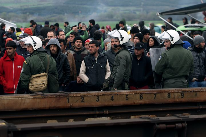 Macedonia has completely closed its border to those without valid documents, according to an unnamed police official. Thousan