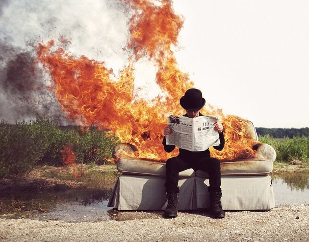 Artist Turns Sleep Disorder Nightmares Into Haunting Photo