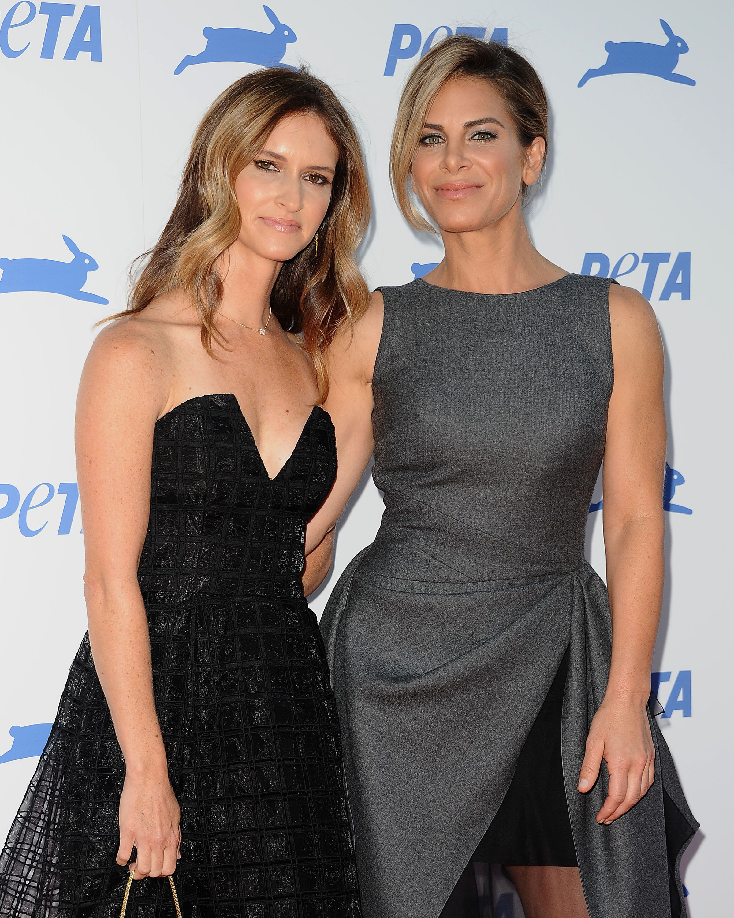 LOS ANGELES, CA - SEPTEMBER 30:  Jillian Michaels (R) and Heidi Rhoades attend PETA's 35th anniversary party at Hollywood Palladium on September 30, 2015 in Los Angeles, California.  (Photo by Jason LaVeris/FilmMagic)