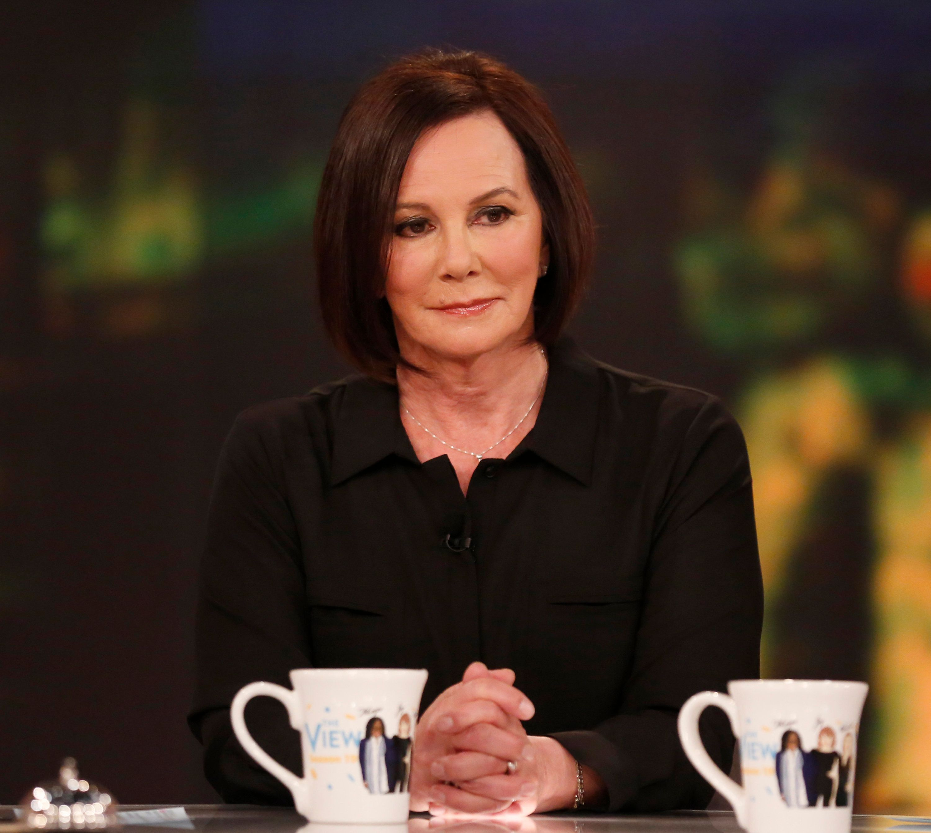 THE VIEW - Marcia Clark is the guest today, Wednesday, February 3, 2016 on ABC's 'The View.'   'THE VIEW'  airs 11:00 a.m. - 12:00 noon, ET on the ABC Television Network.   (Photo by Heidi Gutman/ABC via Getty Images) MARCIA CLARK