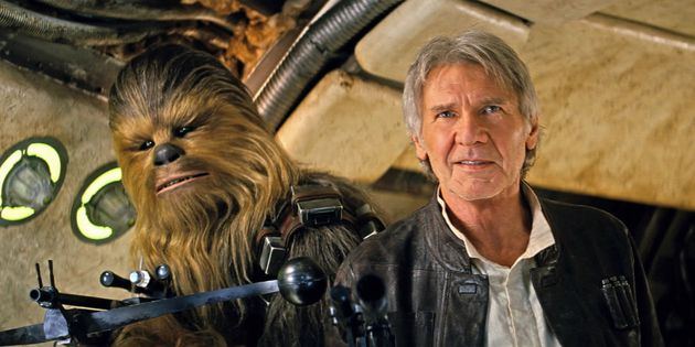 Chewy and Han Solo both returned for 'The Force