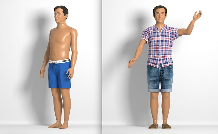 """Normal Barbie"" now has a male counterpart."