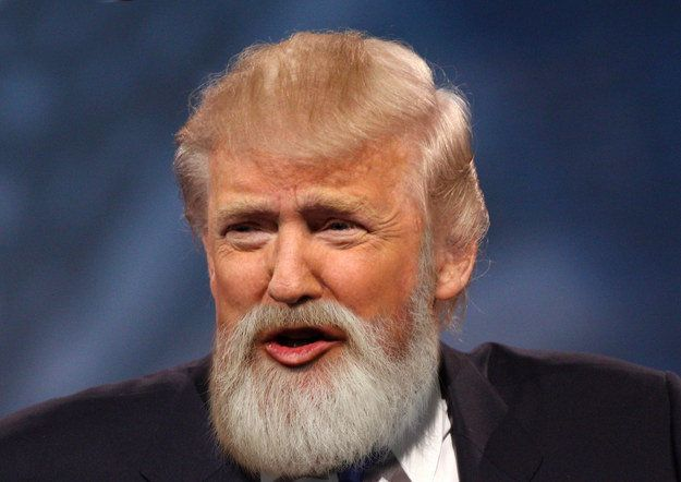 What The Presidential Candidates Look Like With Beards Because You