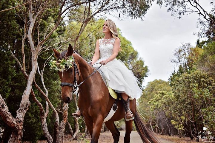 """Just last year, Keanu&nbsp;was a startling <a href=""""http://www.geelongadvertiser.com.au/news/geelong/starved-horses-rescued-by-winged-horse-equine-welfare/news-story/8ea012caaddd9f0d0df895b2f9f5d1cc"""" target=""""_blank"""">330 pounds underweight</a>. Look at him now!"""