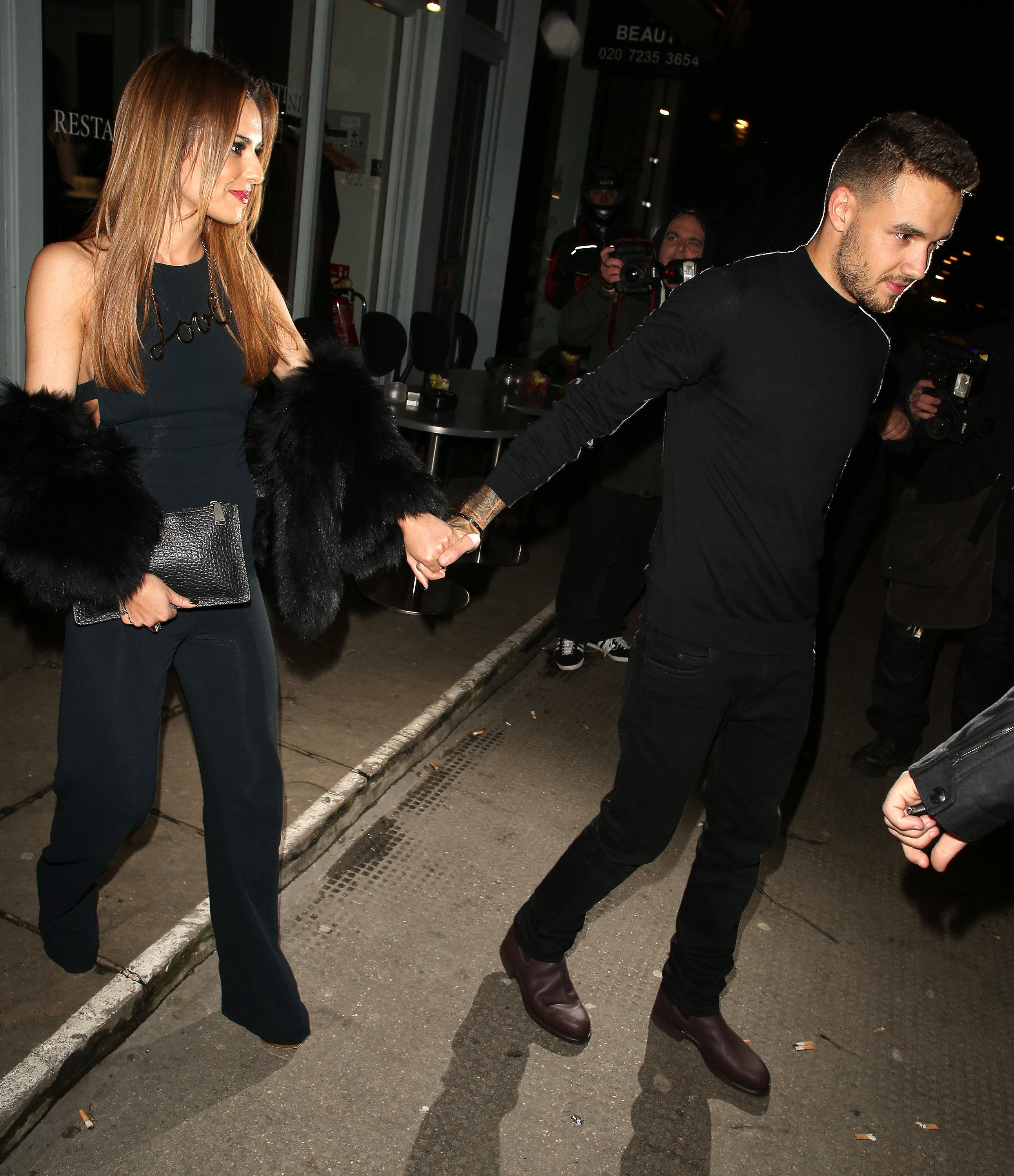 Cheryl And Liam Go Public On Dinner Date In