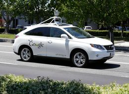 This Is The Moment Google's Driverless Car Crashed Into A Bus