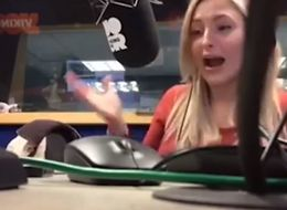 Radio Host Totally Freaks Out When Co-Presenter Pranks Her