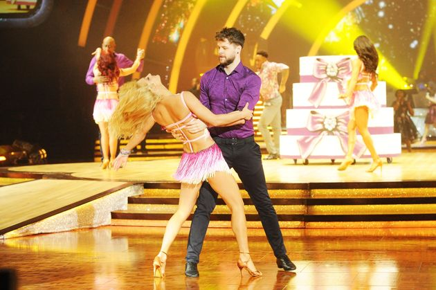 Reigning 'Strictly' champs, Jay McGuiness and Aliona