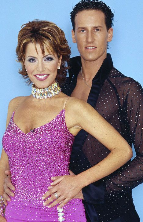Brendan Cole with first partner Natasha