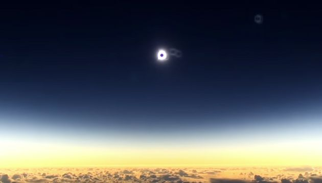 Astronomer Captures The Best Solar Eclipse Picture You'll Ever