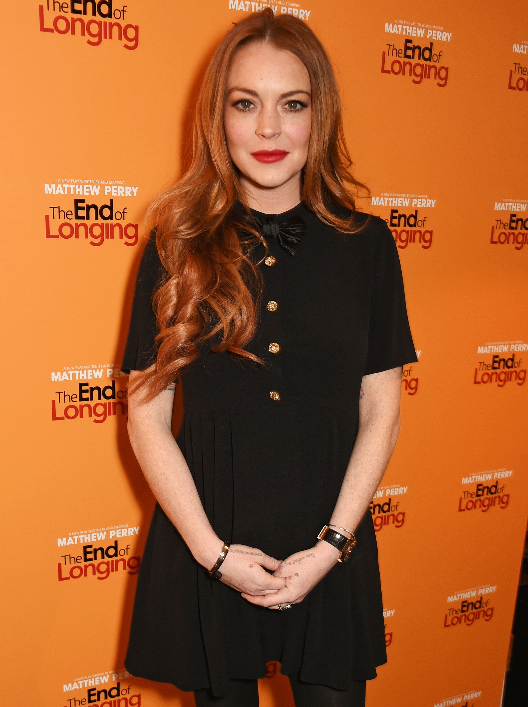 Lindsay Lohan claimed she turned down Harry