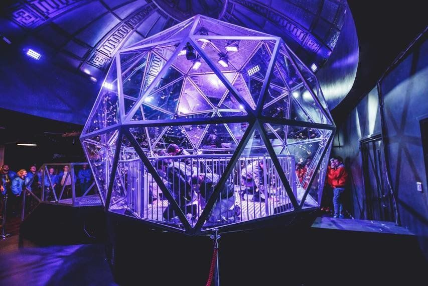 Here's A First Look At London's Crystal Maze
