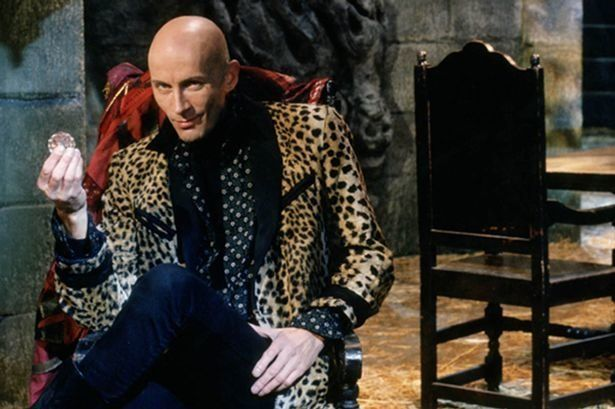 Richard O'Brien was the original host of 'The Crystal